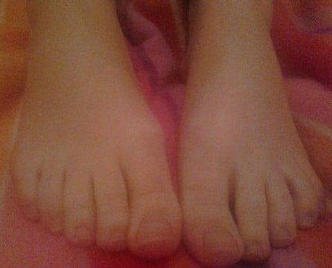 sexe avec les pieds